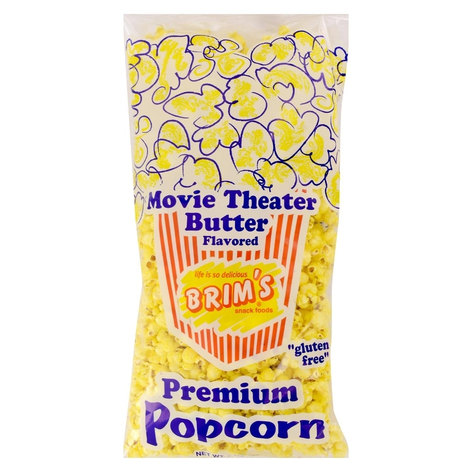 Brim S Premium Butter Flavored Popcorn 8 Oz Family Dollar