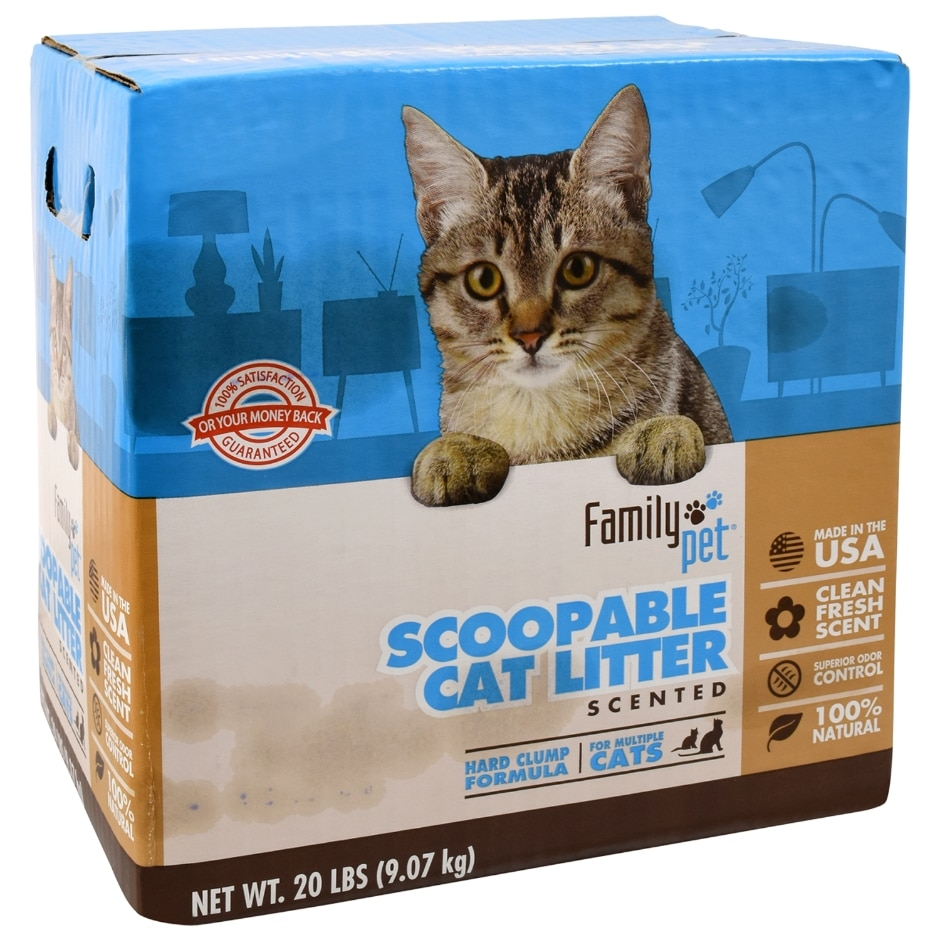 Family Pet Cat Litter 20 Lb Family Dollar