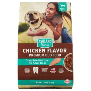 Ashland Farms Chicken Flavor Premium Dog Food 15 Lb Family Dollar