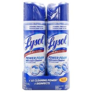 Lysol Power Foam Bathroom Cleaner 2 Ct Family Dollar
