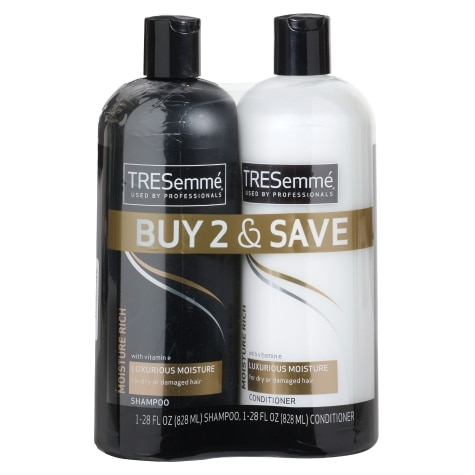 Tresemme Moisture Rich Shampoo Conditioner Pack 2 Ct Family Dollar