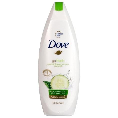 Dove Cucumber Green Tea Body Wash 12 Oz Family Dollar