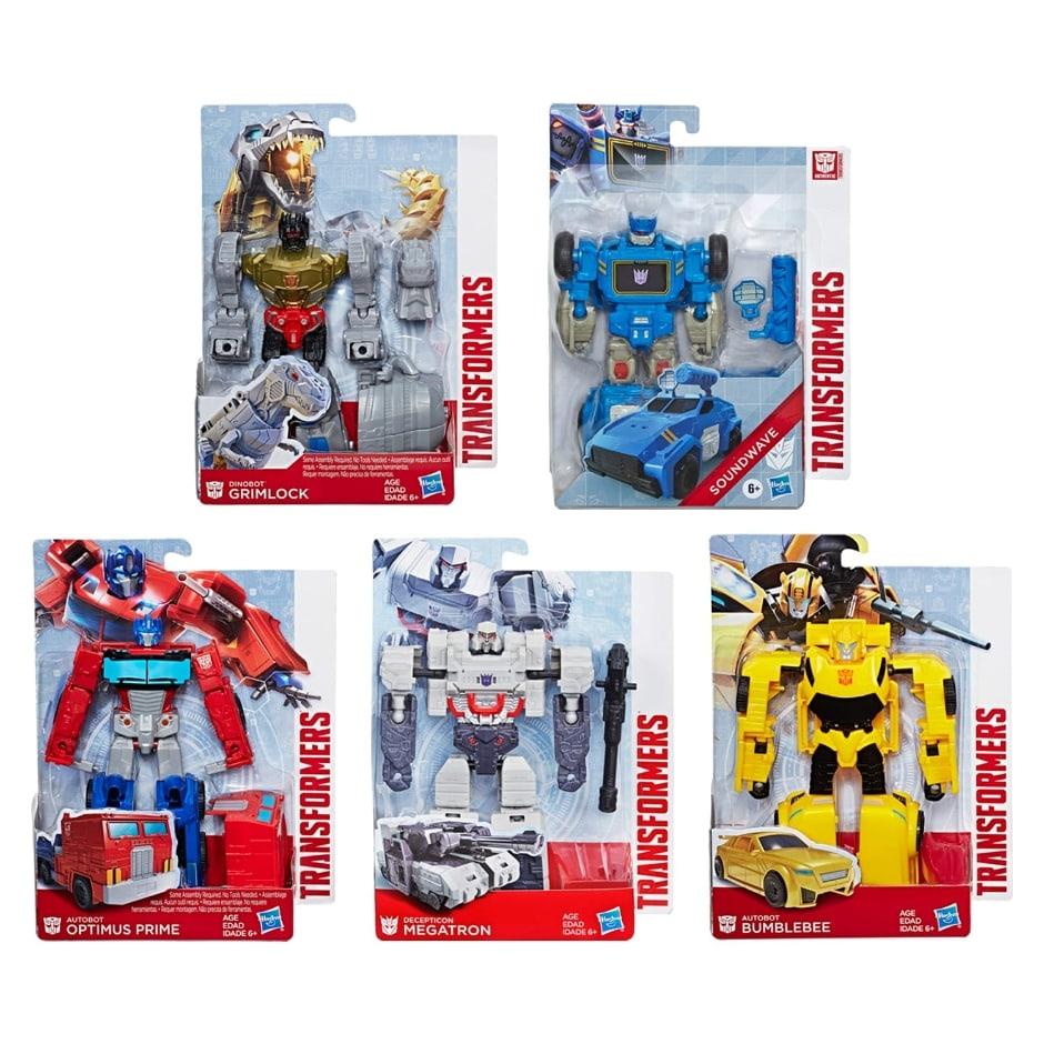 Transformers Authentics Figures Alpha Series Family Dollar