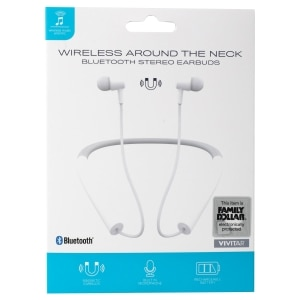 Tech Up Wireless Around The Neck Bluetooth Headsets Family Dollar