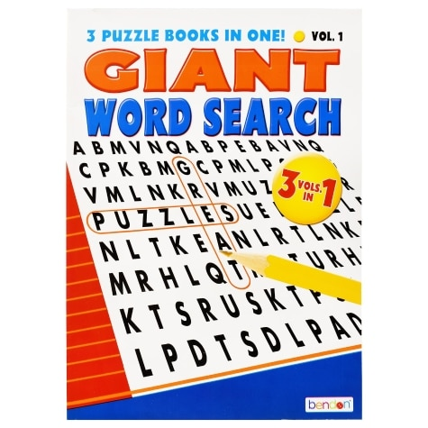 Bendon Giant Word Search Puzzle Books Family Dollar