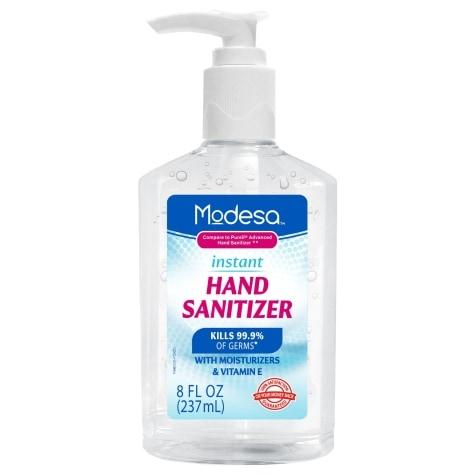 Modesa 1 Liter Pump Bottle Instant Hand Sanitizer 70 Alcohol