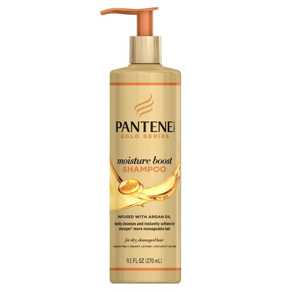 Pantene Gold Series Moisture Boost Shampoo 9 1 Oz Family Dollar