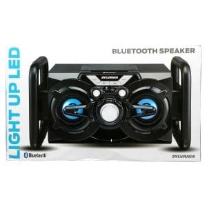 Sylvania Light-Up LED Bluetooth Speaker