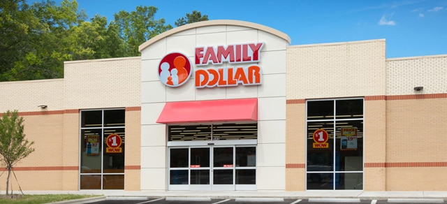 Family Dollar Store in Anderson, SC.