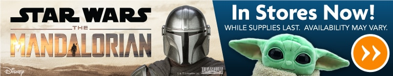 Star Wars The Mandalorian Plush Now Available at Family Dollar